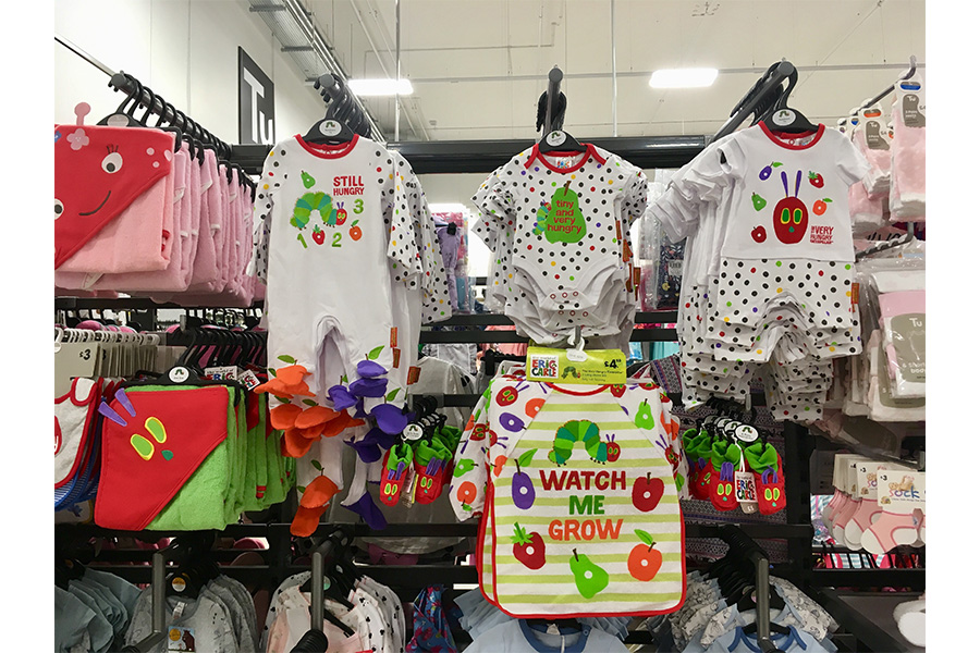 New The Very Hungry Caterpillar babywear wiggles into Sainsbury's