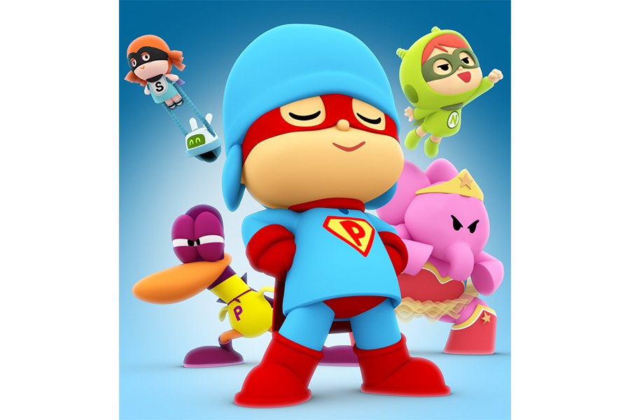 Pocoyo will present at the Licensing Expo 2018 his first Big Screen Production