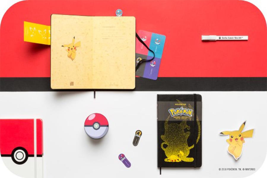 Moleskine presenta i taccuini Pokémon in Edizione Limitata