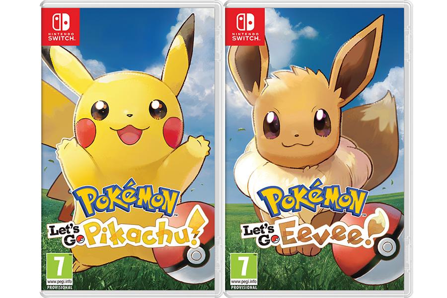 Svelati nuovi giochi Pokémon per Nintendo Switch