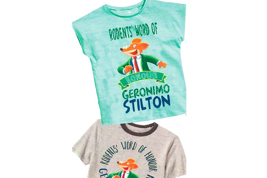 ATLANTYCA signs with BIOWORLD for Geronimo Stilton Apparel Collection