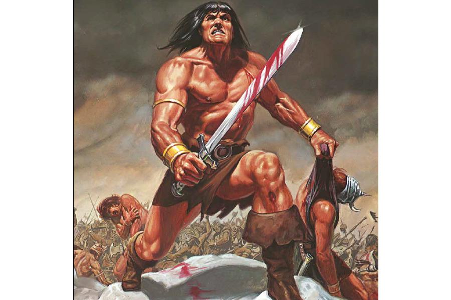 """Conan Properties International e Panini S.P.A. annunciano un accordo per """"Conan il Barbaro"""""""