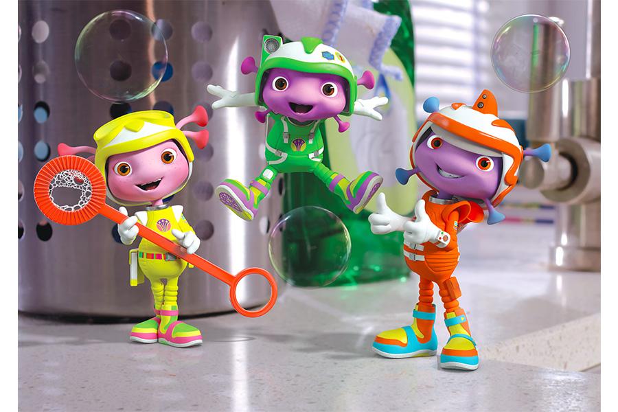 """Channel 5's Milkshake! and Universal Kids commission Season 3 of """"Floogals"""""""