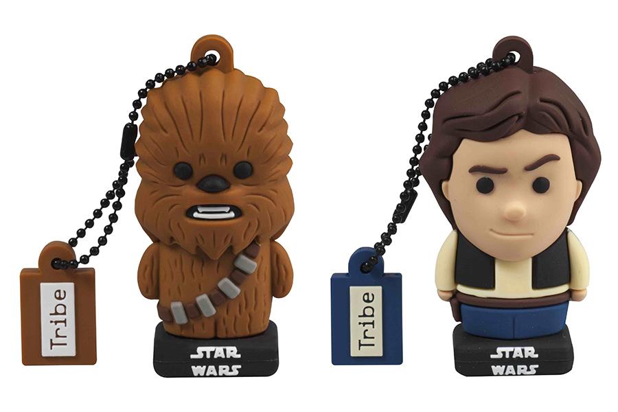 Tribe lancia le chiavette USB 16 GB dedicate ai personaggi della saga di Star Wars
