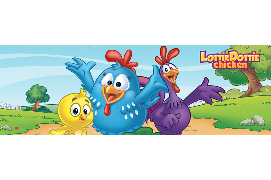 "WildBrain appointed exclusive global manager of ""Lottie Dottie Chicken"" on YouTube"