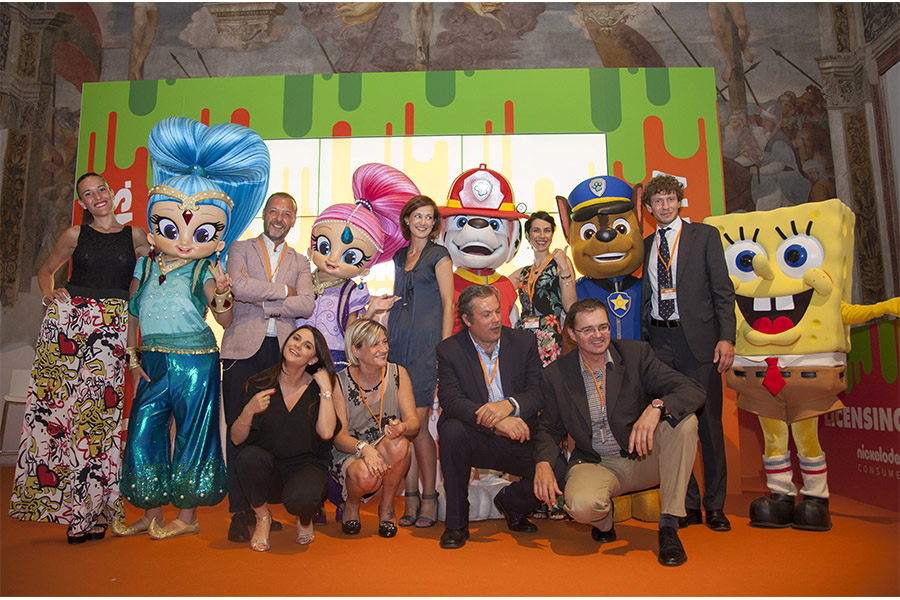 Nickelodeon Licensing Meeting, the showcase of next novelties