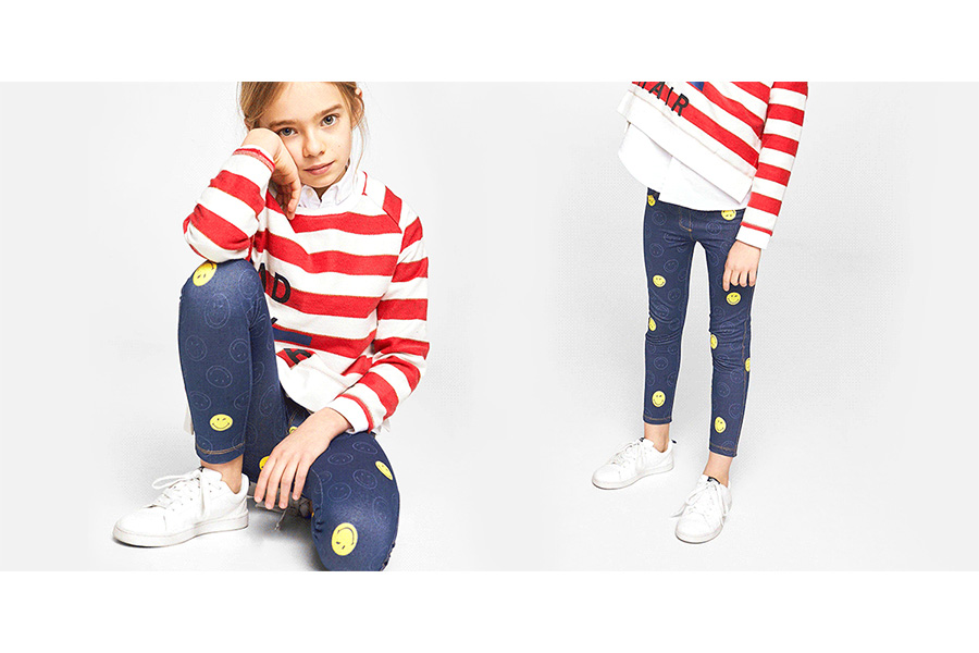 Smiley Launches New Children Collection with Leading Retailers at Mango, Lefties & Zara