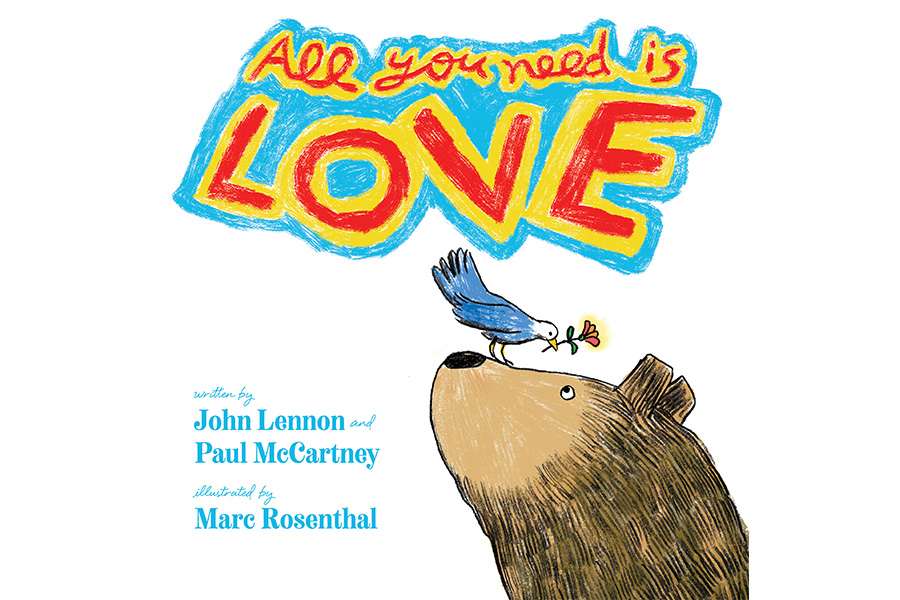 Lennon and McCartney's Lyrics Published as Picture Book by Simon & Schuster