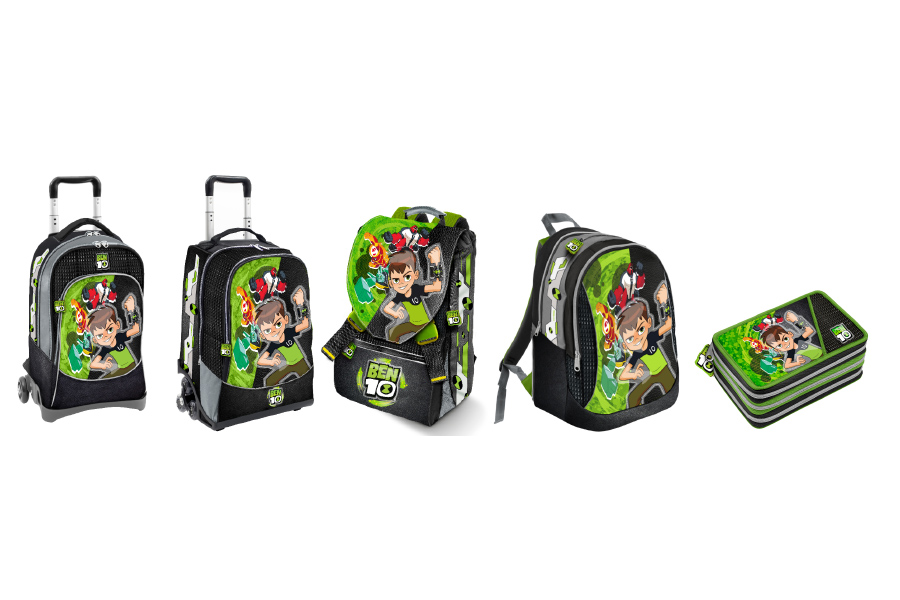 Back to school by Ben 10!