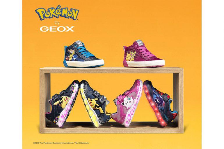 LED Technologien und Pokémon Kollektion bei GEOX