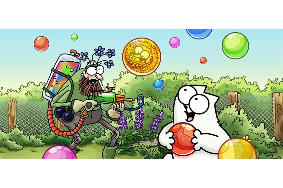 Simon's Cat e Tactile Games lanciano un nuovo gioco mobile: Simon's Cat Pop Time
