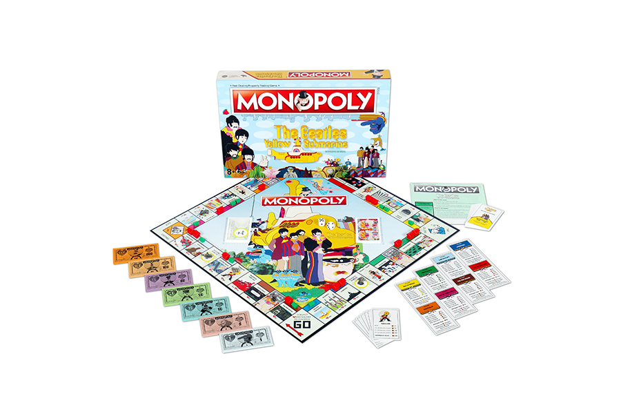 Monopoly celebrates 50th anniversary of The Beatles Yellow Submarine