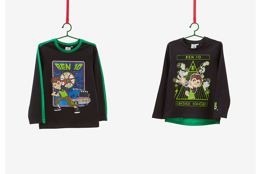 The collection dedicated to Ben 10 arrives in the OVS stores