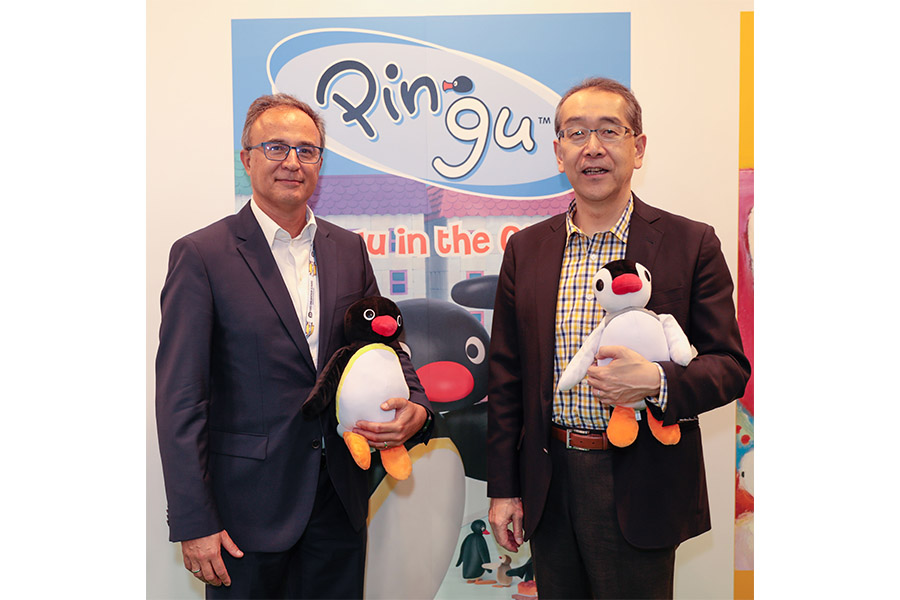 Sony giants announce Pingu distribution alliance at BLE