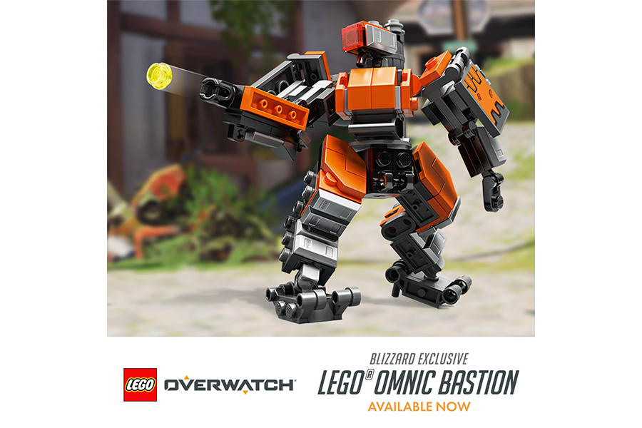 Blizzard e LEGO rivelano l'Overwatch Omnic Bastion