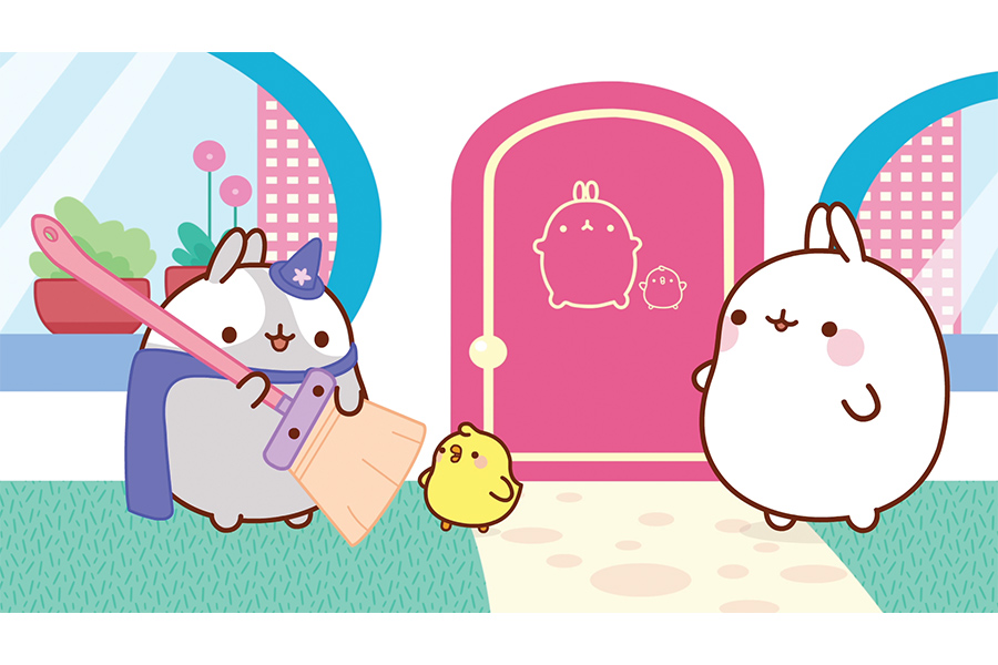 Molang lands on Sony Pictures Television Networks free-to-air channel in the UK