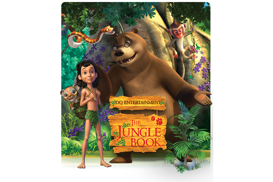 "DQE firma con un licenziatario Master Toy per ""Jungle Book"" e ""Peter Pan"""