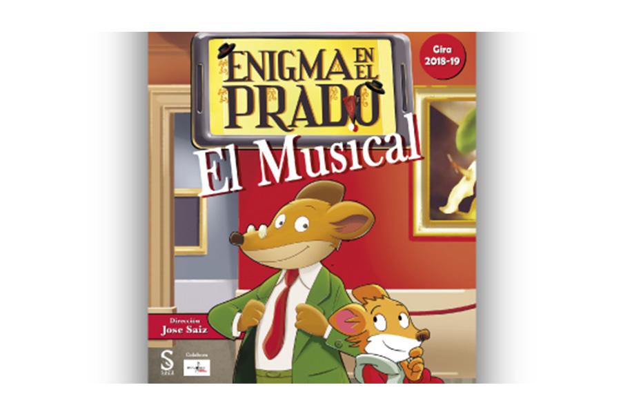 """""""ENIGMA EN EL PRADO"""", the new musical dedicated to GERONIMO STILTON, debuts in Spain"""