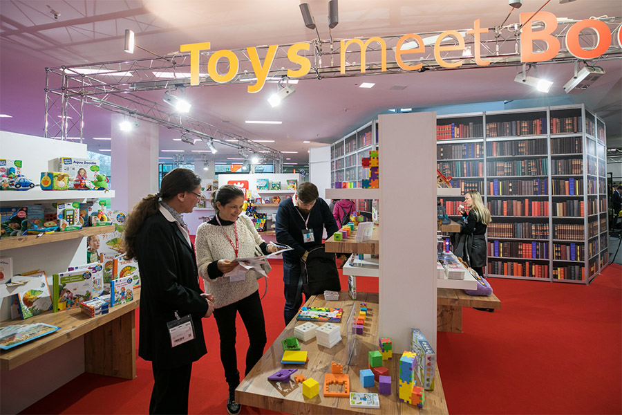 Spielwarenmesse: Toys meet Books continua