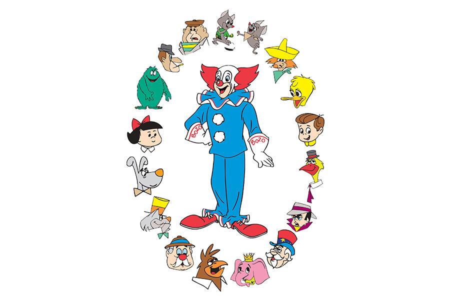 Beanstalk to represent 'Bozo the Clown'