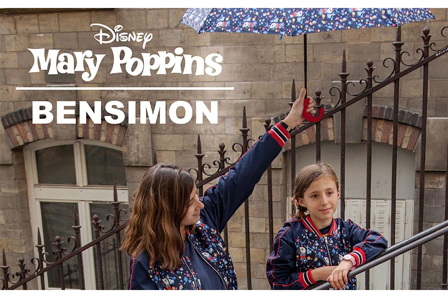 BENSIMON launches the capsule collection dedicated to the remake of Mary Poppins Disney