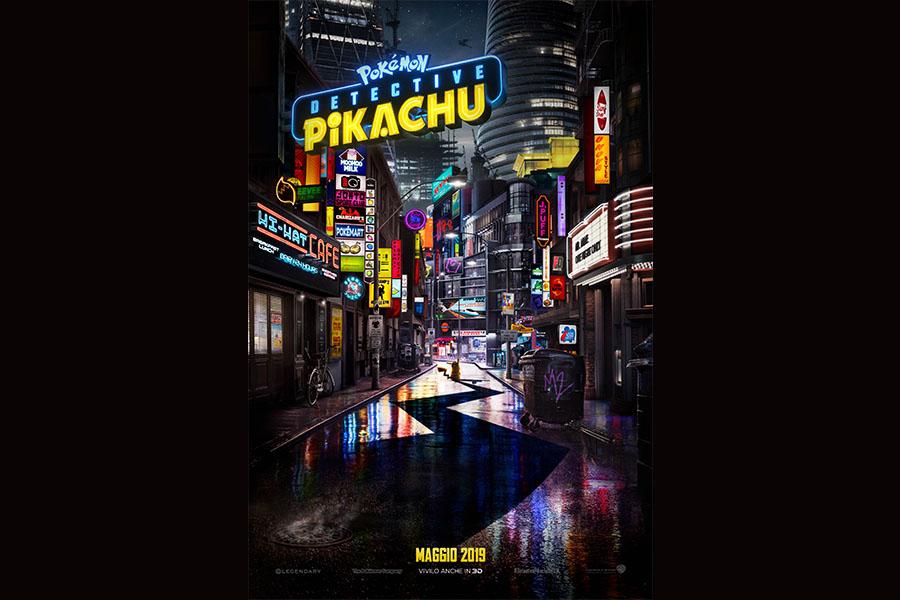 È uscito un nuovo trailer di 'POKÉMON Detective Pikachu'