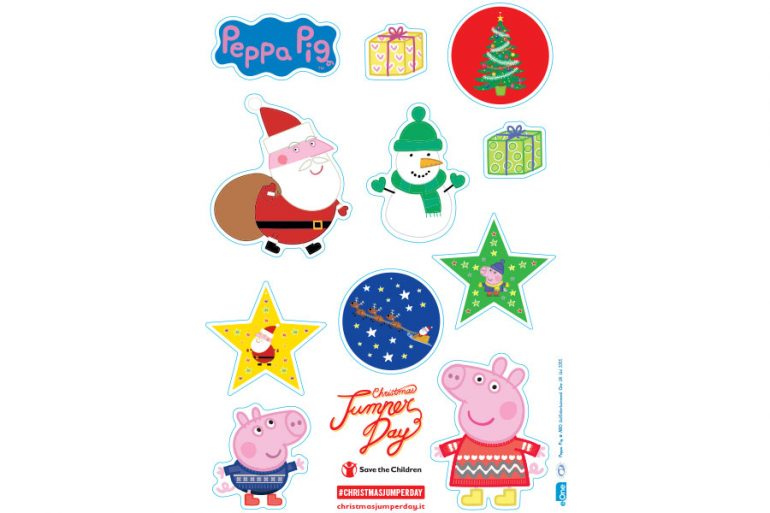 Peppa Pig celebrates Christmas Jumper Day with Save the Children ...
