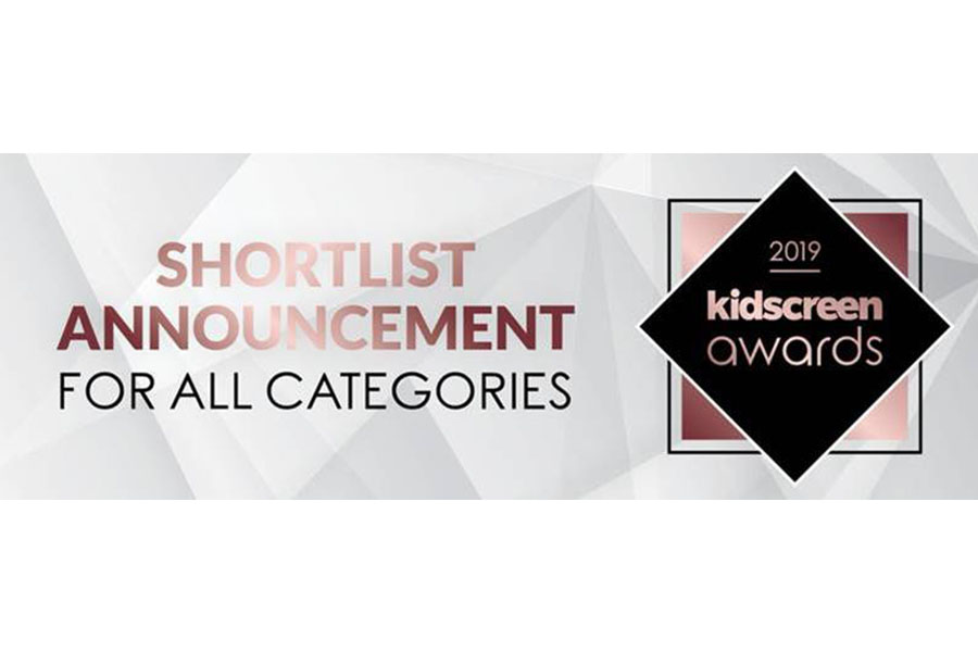 Annunciate le candidature ai Kidscreen Awards 2019