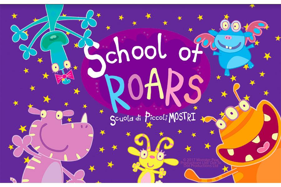 "Record-Breaking Audience results for ""School of Roars, School of Little Monsters"" on Rai Yoyo"