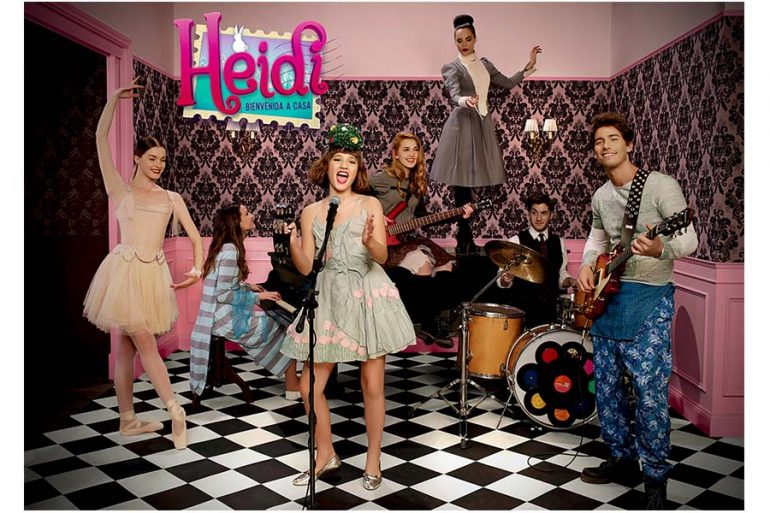 Heidi Bienvenida series one and two are coming to Disney Channel Spain