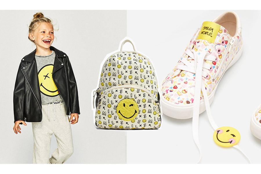 Risultati positivi per Smiley grazie ad abbigliamento e back to school