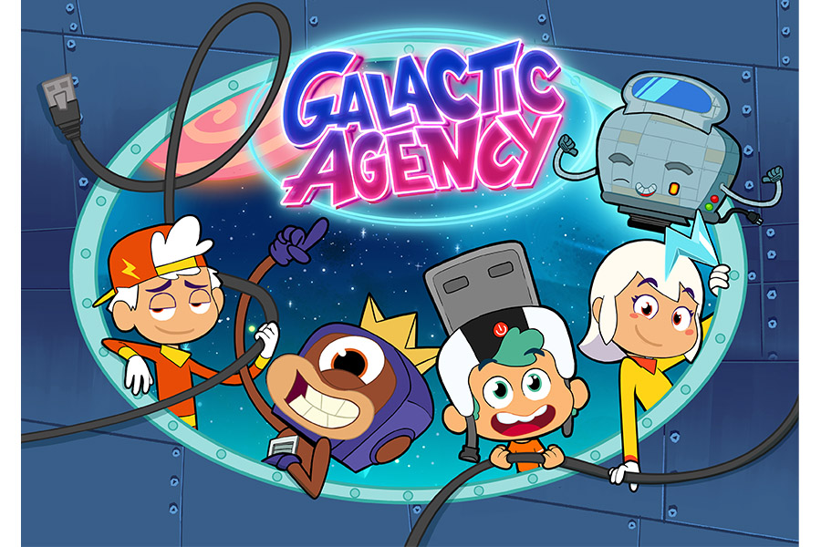 Studio 100 animation collaborates with Cosmos-Maya on Galactic Agency