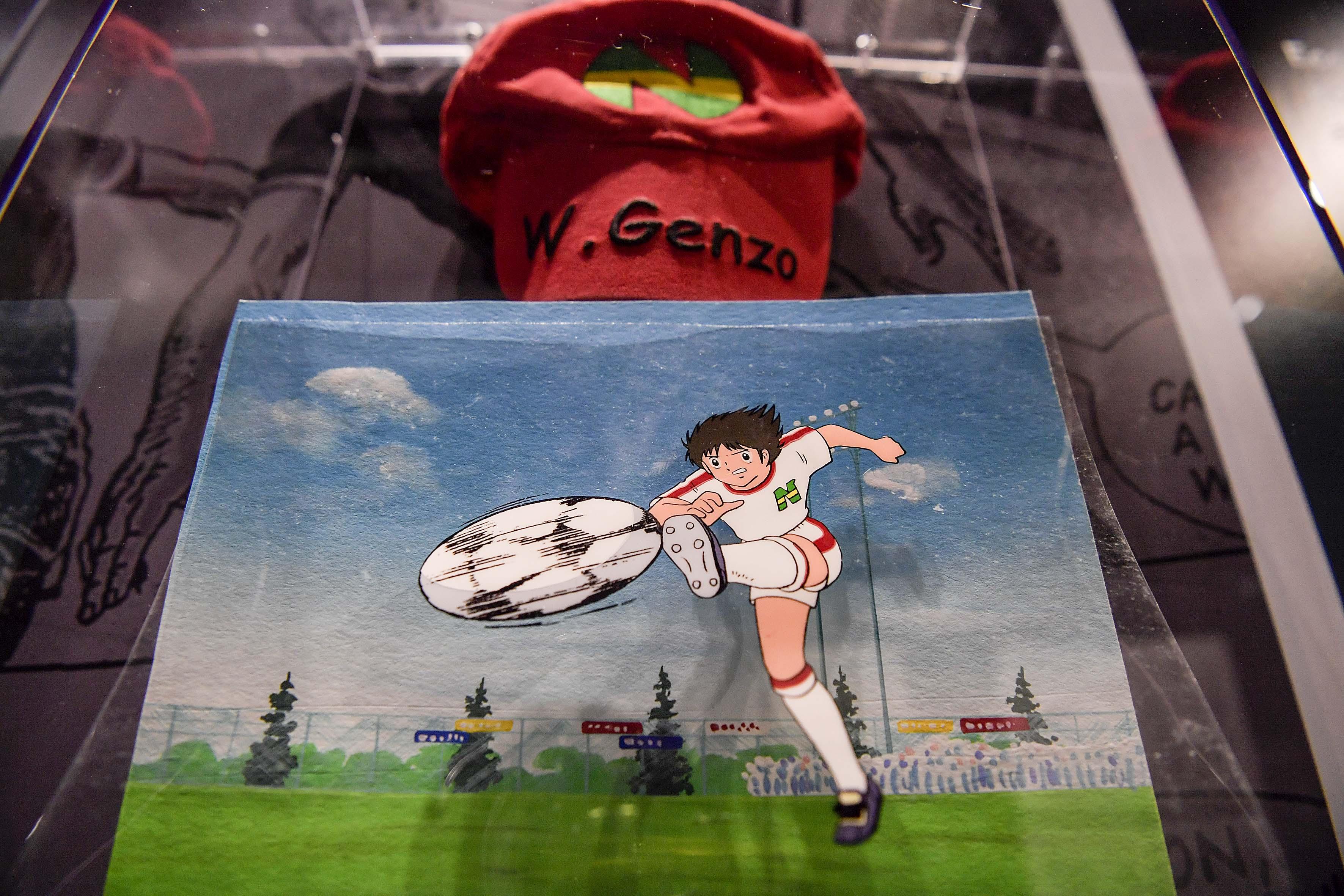'Gulp! Goal! Ciak. Calcio e Fumetti' Exhibition At JMuseum