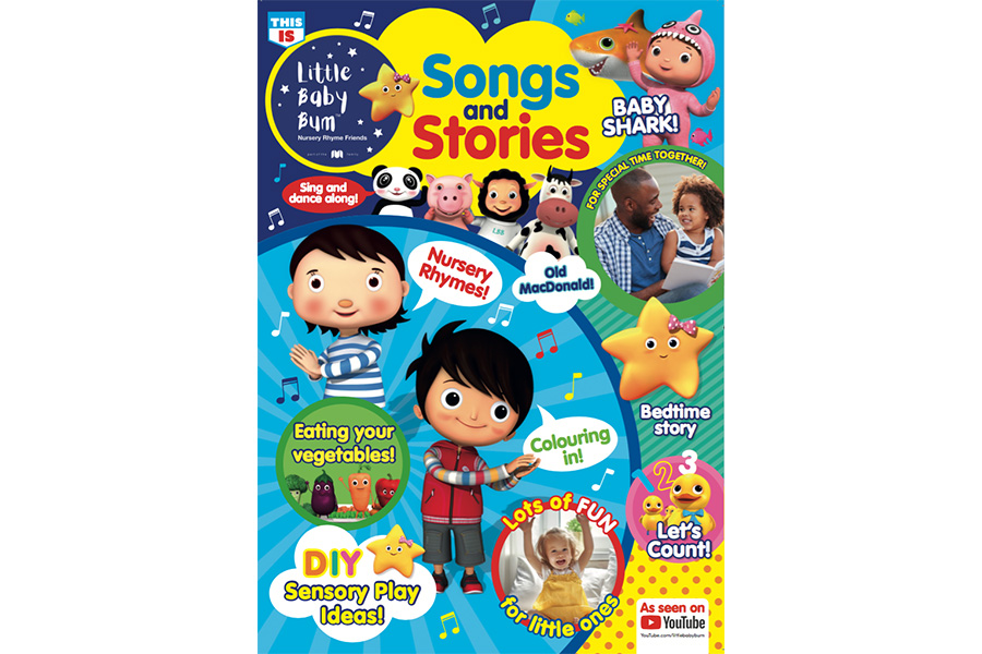 Lanciato il magazine 'This Is Little Baby Bum Songs and Stories' da DC Thomson Media