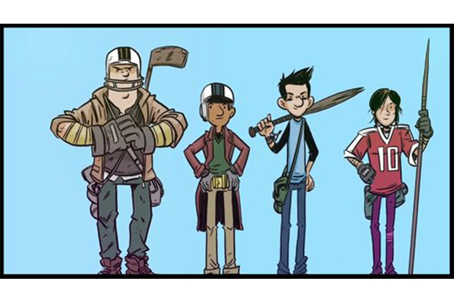 Thunderbird's Atomic Cartoons insieme a Cyber Group Studios per 'The Last Kids on Earth'