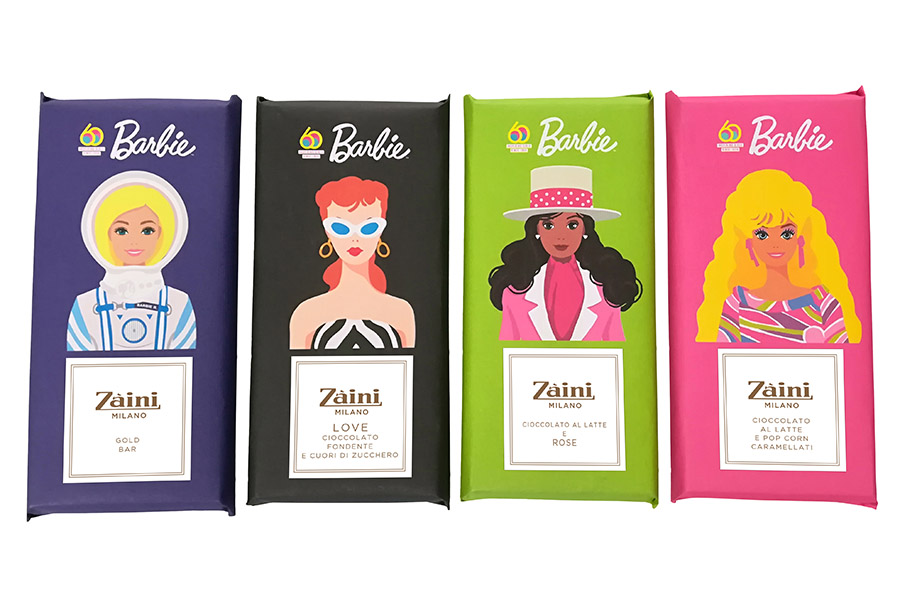 Zaini celebrates Barbie's 60th anniversary with a chocolate limited edition