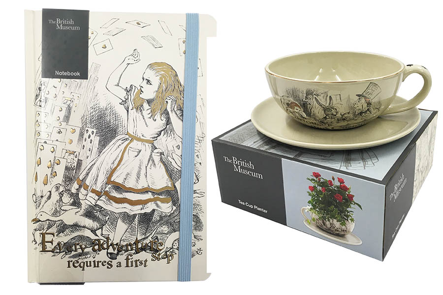 British Museum gift collection takes Sainsbury's customers to Wonderland