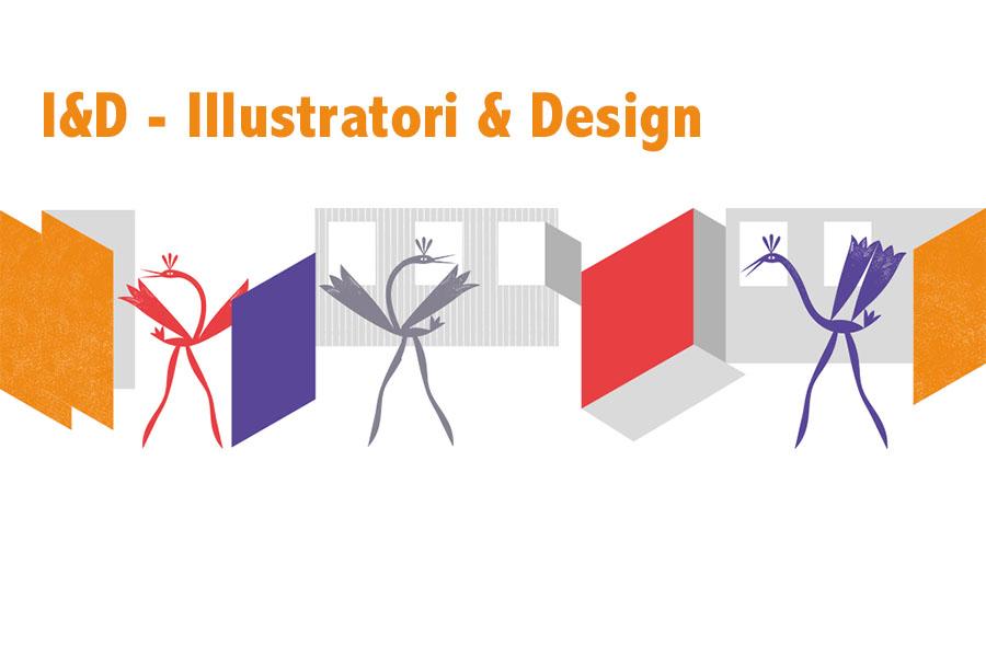 La mostra 'I&D – Illustratori & Design' al BLTF19