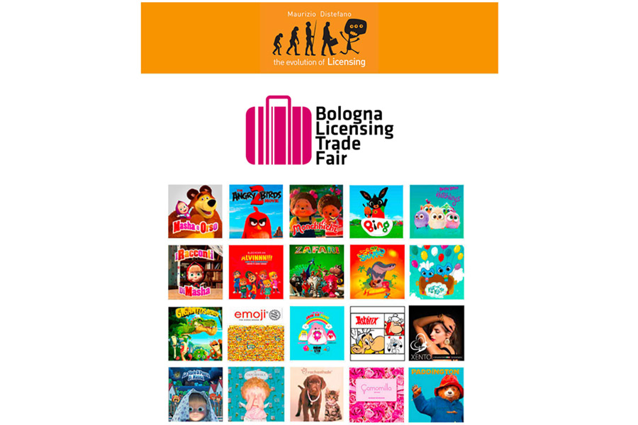 Maurizio Distefano Licensing brings an exciting and varied line-up to Bologna