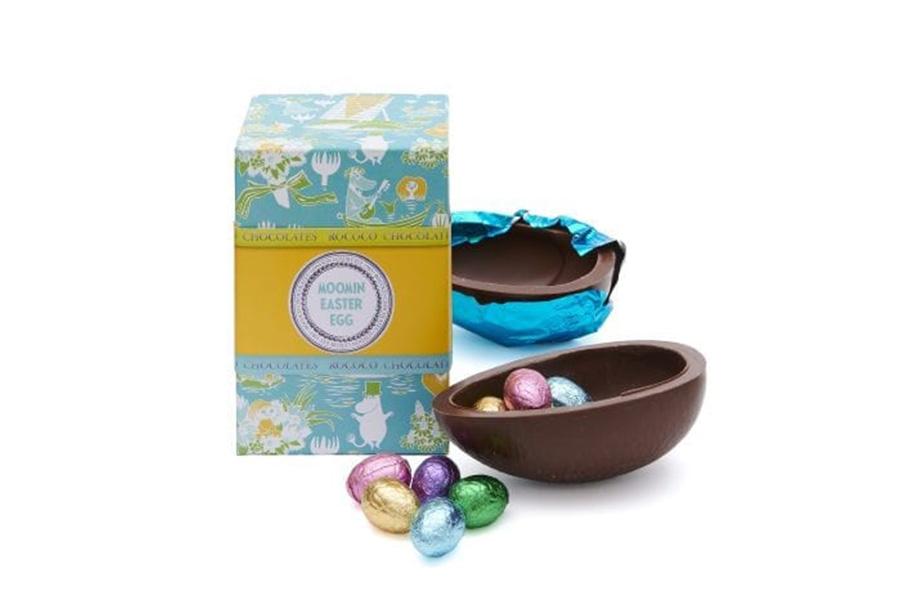 Rococo Chocolates to launch handmade Moomin Easter eggs
