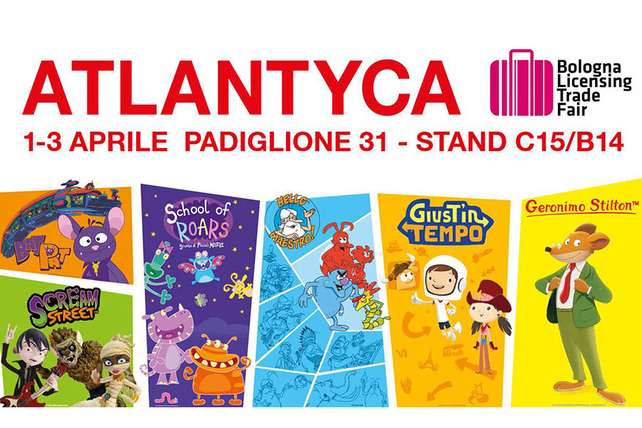 Atlantyca presents its novelties at BLTF19
