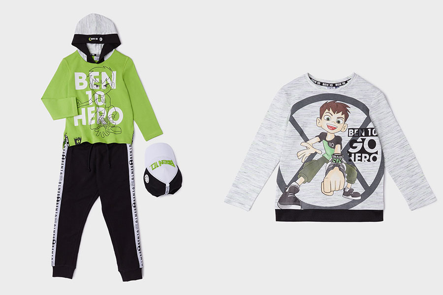 Here it comes the BEN 10 collection signed by Original Marines