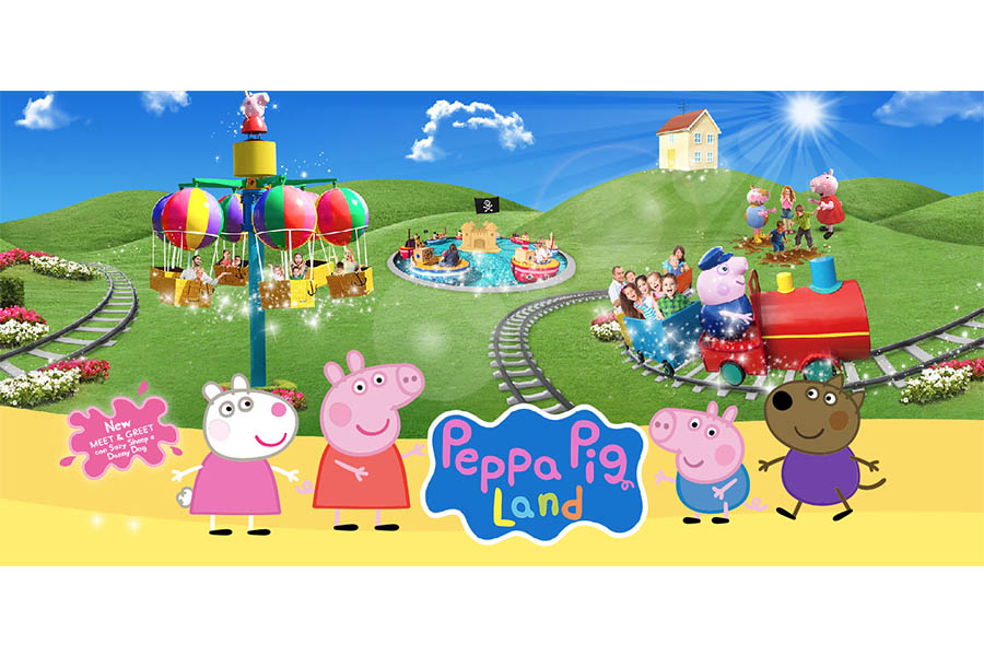 Peppa Pig Land is coming back