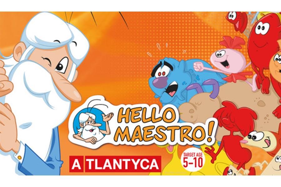 Atlantyca is the exclusive Italian Licensing Agent of Hello Maestro