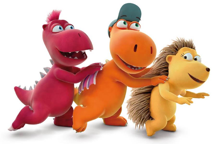 On Rai Yoyo the fantastic TV series of the little dragon Nocedicocco!