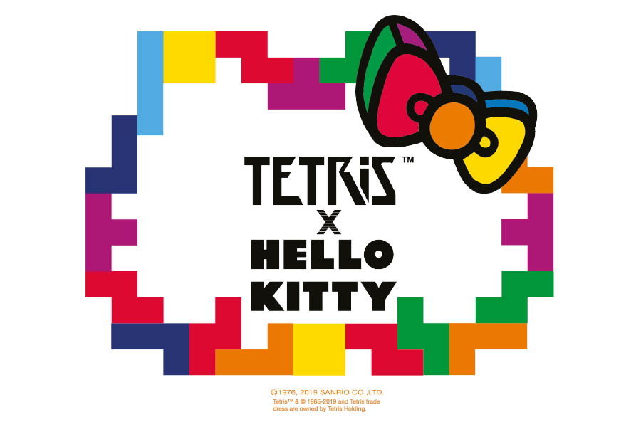 Sanrio and The Tetris Company team up to introduce new online games and merchandise