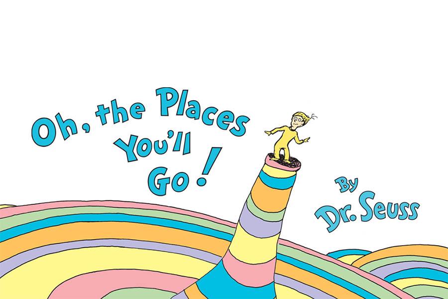 Festeggia i tuoi traguardi più importanti con l'amato Dr. Seuss