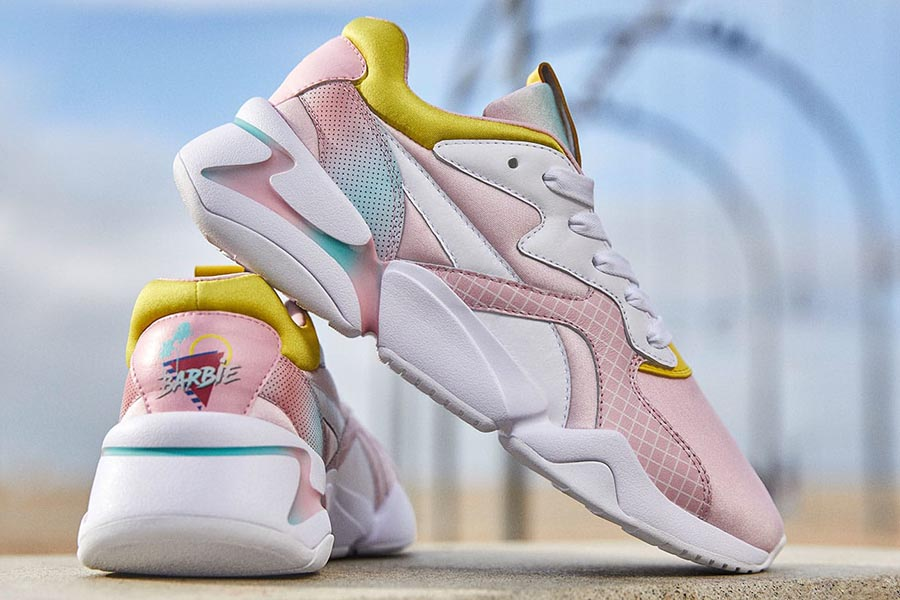 PUMA in partnership with Barbie to celebrate the 60th anniversary of the iconic doll
