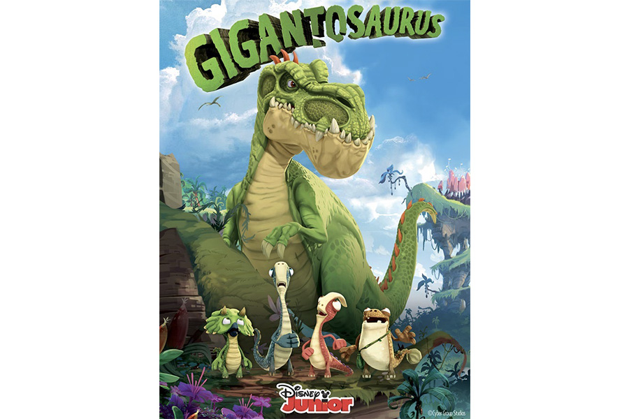 Cyber Group Studios Secures 'Dino-Mite' New Soft Lines Licensees for Hit Series Gigantosaurus on Disney Channel and Disney Junior