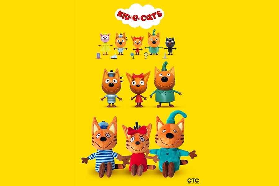 APC Kids sceglie Giochi Preziosi come distributore dei giocattoli di 'Kid-E-Cats' per l'Italia
